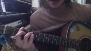 SticKy FIngers - our town guitar tutorial chords