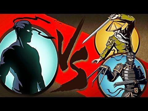 ОТШЕЛЬНИК ПОБЕЖДЕН мультик для детей игра Shadow Fight 2 бой с тенью видео