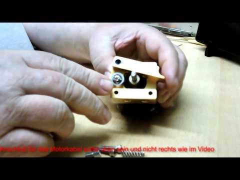So get es - Zusammenbau eines Extruders von Bangood - Assembling an extruder from Bangood