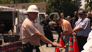 Complete 30 Minute DOMINION VIRGINIA POWER ARC DEMO Safety Trailer