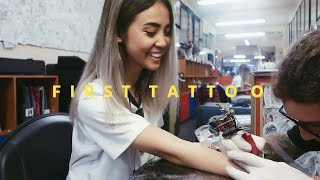 GETTING A TATTOO - First Experience // Process + Aftercare