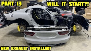 Rebuilding a Wrecked 2017 Dodge Viper Part 13