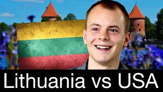 Foreigner REACTS To Lithuanian Life | Lithuania Is Amazing!