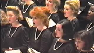 Westminster Choir Christmas at Carnegie Hall - Willcocks:  Unto Us Is Born A Son