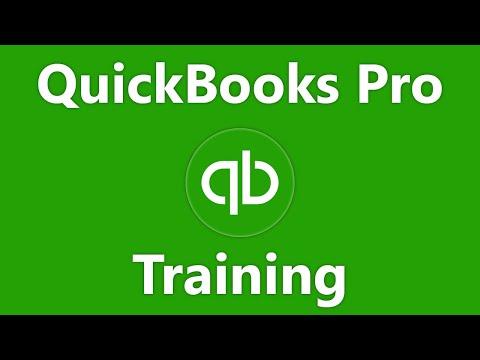 QuickBooks Desktop Pro 2021 Tutorial The Centers Intuit Training ...