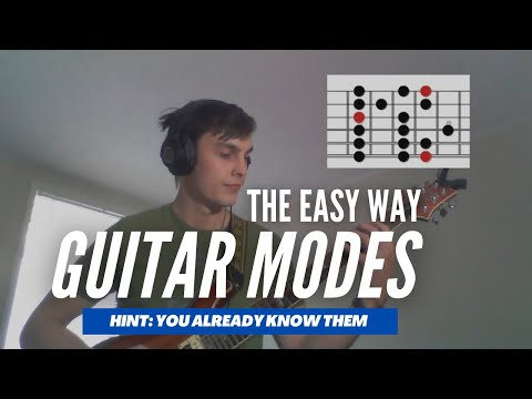 A sample lesson of me explaining modes on guitar.
