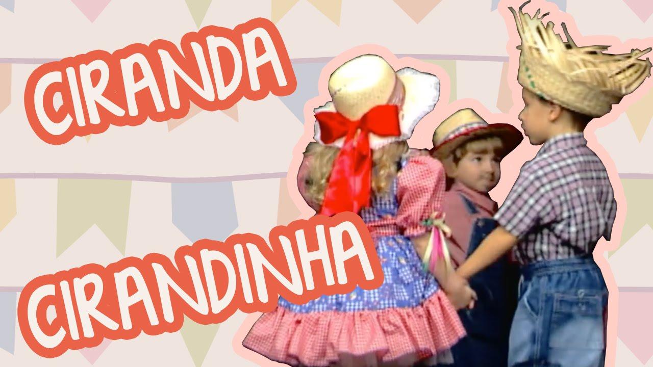 CIRANDA CIRANDINHA| BEBÊ MAIS MÚSICA