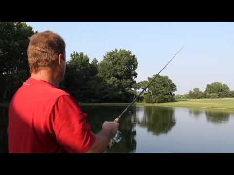 Bass Fishing In My Country Pond. Part 2