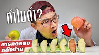 แอปเปิ้ลเปลี่ยนสีได้ยังไง?!? พร้อมวิธีแก้!!