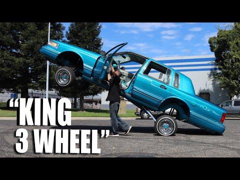 King 3 Wheel!! Clean Lincoln!