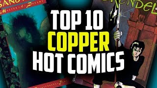 Top 10 Modern Age Comics by Overstreet 2018!
