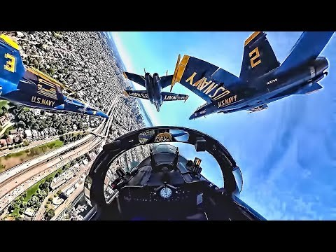 Exclusive Inside View with the Blue Angels
