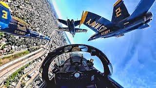 Blue Angels Cockpit Video • Boeing Seafair Air Show 2019