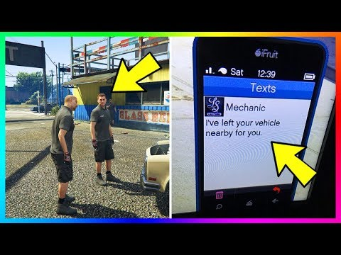 The Vehicle Mechanic (Johnny On The Spot) Returning To GTA Online? Strange Messages Could Hint So!
