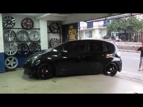 Video Modifikasi Honda Jazz Body Ceper|Toko Modifikasi Velg Mobil Rajawali Auto Galery