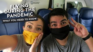 FLYING DURING THE PANDEMIC (Mexico City to Puerto Vallarta)