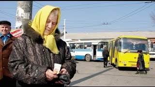 Куда по утрам ездят пенсионеры в маршрутках