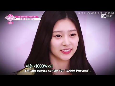 Eng sub][Produce 48] Kim Minjoo cut EP9 part 2  - Minjoology