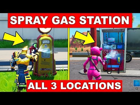 Fortnite Gas Station locations: Where to Spray Different Gas