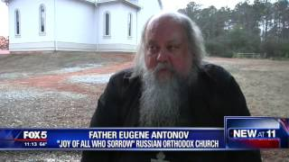 Vandals shoot Russian Orthodox church twice