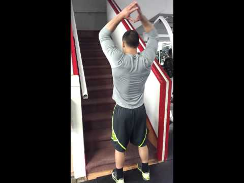 JUMP STAIRS FOR MAX VERTICLE JUMP - plyometrics