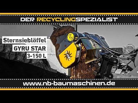 GYRUStar 3-150L | 2,0 - 5,0t | Schaufelseparator | Siebschaufel | Sieblöffel