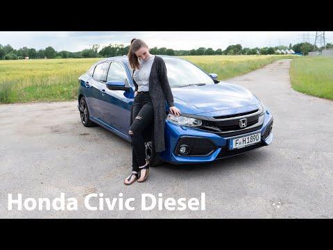 2019 Honda Civic 1.6 i-DTEC Fahrbericht / Test der 9-Gang-Automatik - Autophorie