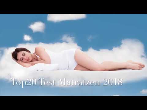 Top20 Test Matratzen 2018 -  von Top 20 Radio.TV - Testsieger Hemafa Watergel 2400 / Smaragd 23
