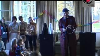 Animation clown magicien pour enfants, Daniel Juillerat