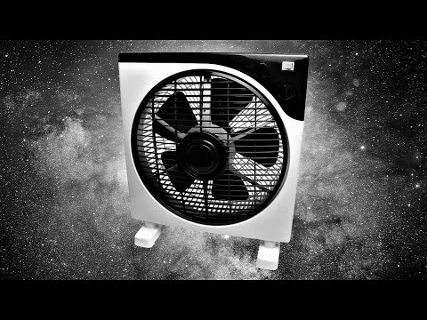 Box Fan Noise | BLACK SCREEN | Sleep, Study, Focus, Soothe Crying Baby