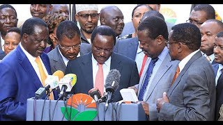 How NASA intends to ensure that Raila-Uhuru-Pact is implemented