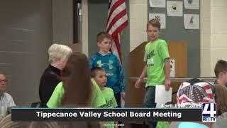 Tippecanoe Valley School Board Meeting - 4-15-19