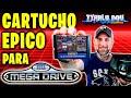 El Cartucho Mas Epico Para Sega Mega Drive Retro Unboxi