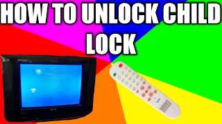 How to Unlock Child Lock (Remote Trick)