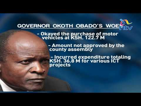 Senate recommends arrest and prosecution of Obado over graft