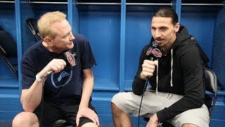 Kevin interviews Zlatan Ibrahimović