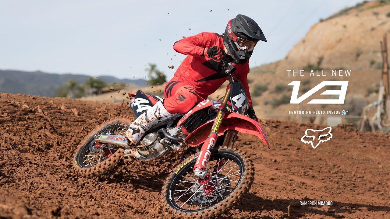 Cameron McAdoo – Fox V3 Helmet