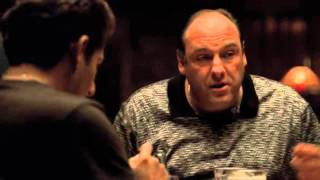 Tony And Cousin T.Blundetto Joking With Christopher   The Sopranos HD