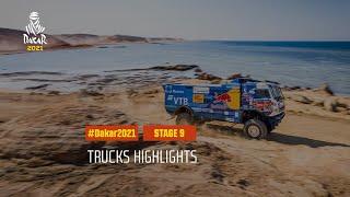DAKAR2021 - Stage 9 - Neom / Neom - Truck Highlights