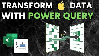 Excel Power Query Demo: Transform APPLE Stock Data with Power Query