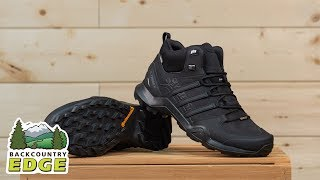 Adidas Outdoor Mens Terrex Swift R2 Mid GTX Hiking Boot