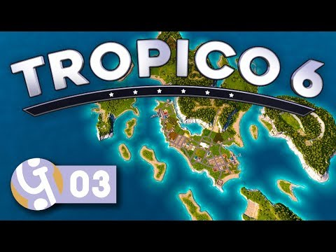 🌴 Declaring Independance! | Let's Play Tropico 6 Sandbox Ep. 03