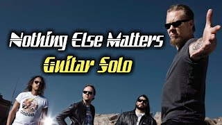 Metallica - Nothing Else Matters (Solo Backing Track)