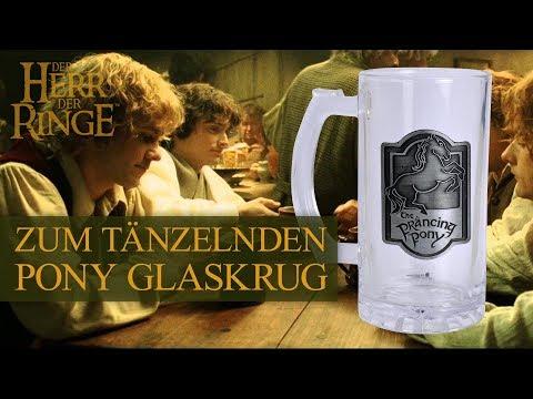 Der Herr der Ringe: Zum Tänzelnden Pony-Glaskrug