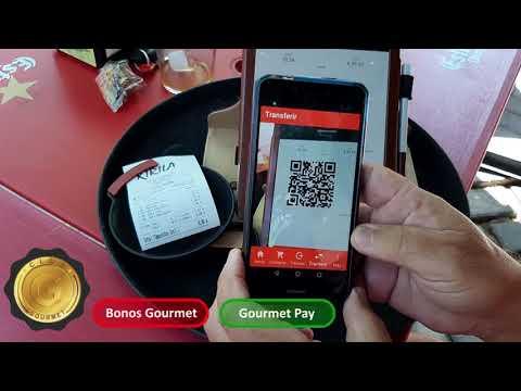 Como usar tu App Gourmet Pay en un comercio adherido a Club Gourmet.