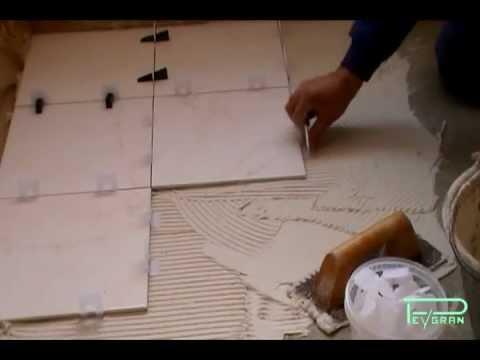 Sistema de nivelación pavimento y pared.