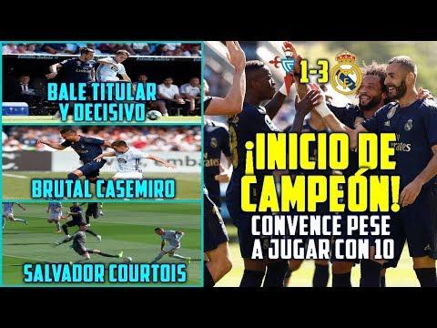 ¡INICIO DE CAMPEÓN DEL MADRID (1-3)! | BALE TITULAR Y DECISIVO | COURTOIS SALVADOR | MODRIC ROJA
