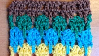 How To Make The Larksfoot Crochet Pattern Stitch - DIY Crafts Tutorial - Guidecentral