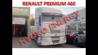 Renault Premium 460 tır hidrojen yakıt tasarruf sistem montajı