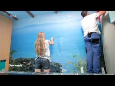 ERFURT On wall - Digitale Fototapete in der WDR-Servicezeit vom 21.09.2012
